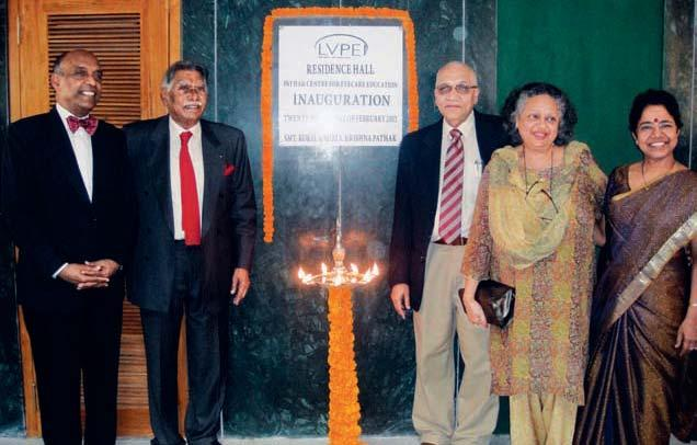 Hall The rst phase of the Pathak Centre for Eye Care Education was completed this year, with the inauguration of the