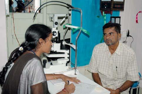 The living expenses of the Vision Technicians managing the VCs are also borne by the community in many instances.