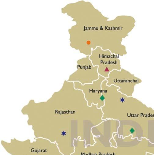 Collaborating Centres India Partners: Tertiary Centres C L Gupta Eye Institute,