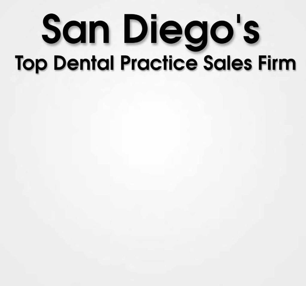 AUGUST 2007 SO. CALIFORNIA 15 PRACTICE FOR SALE #2079 - Downtown near Staples. Lady DDS gross $350k, working 3 ½ days. More volume available. Full Price $150k Full time D.D.S., should do $500k first year.