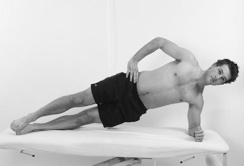 Treatment and Rehabilitation Fig 3.39 plank. Compound exercises for the shoulder complex rotating Rehabilitation programme Rotating plank (Fig 3.