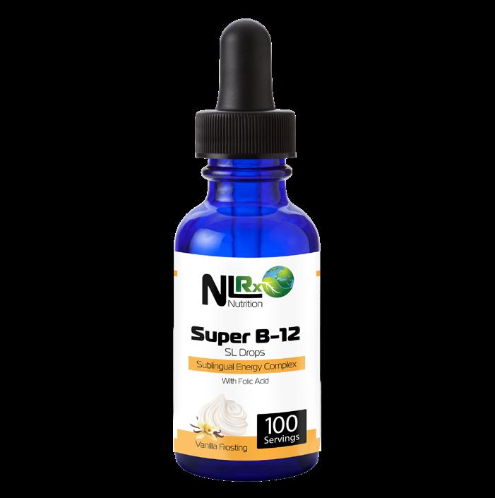 Super B12 liquid promotes easy absorption