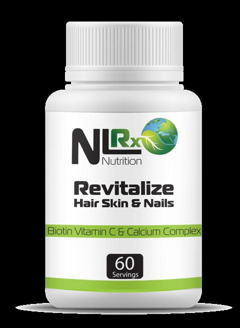 8 REVITALIZE HAIR, SKIN, AND NAILS This Vitamin C supplement is blended with biotin and