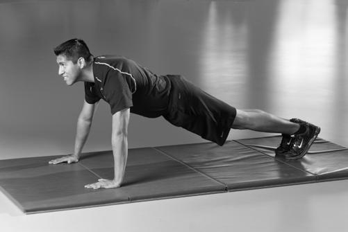 Push-up Keeping your back