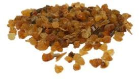 In Latin it is called as Commiphora myrrh. 5. In English it is called as Mor.
