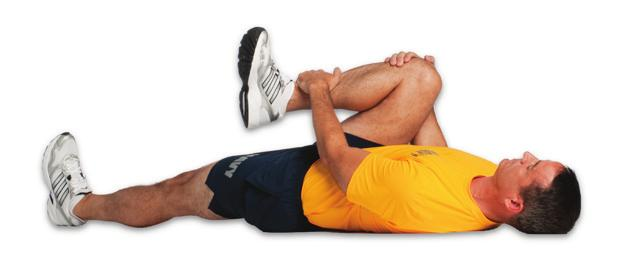Exhale & hold the stretch for seconds Avoid excessive arching in your lower back Pull