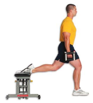 your hip off the deck, straight line from ankle to shoulder Lift your top leg into the