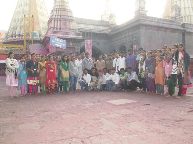 Visit to Shree Jyotiba Temple, Kolhapur. 1. Visit to Panhala Fort:- Interaction with students:- It was a good experience, which has provided exposure to the first year students with industrial life.