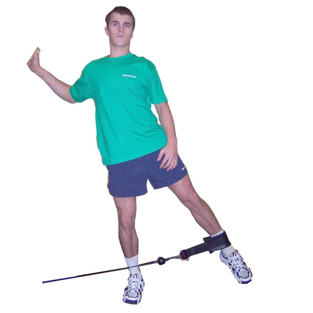 Hip Abduction - Standing - Cable Stand beside low cable Attach cable cuff around far ankle