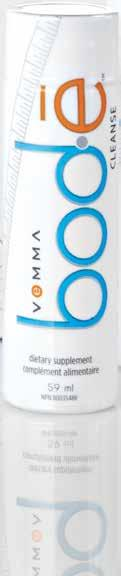VEMMA BOD Ē CLEANSE Per 59 ml bottle Amount Per Serving Calories 15 Total Carbohydrate 10 g - Sugars 0 g - Dietary Fiber (soluble fiber as Fibersol-2 ) 10 g Medicinal ingredients: Vitamin A (100%