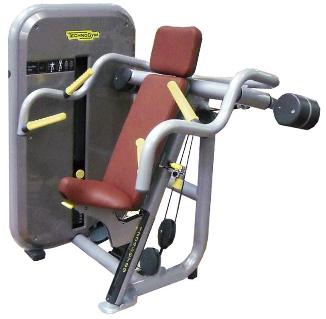 Inclusive Line Element Plus IFI Shoulder Press Larger head pad to ensure full support for all