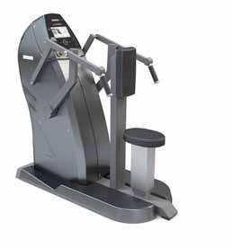 PRODUCTS Strenght Machines SEATED ROW CHEST PRESS Properties Electronically controlled