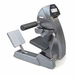 PRODUCTS Strenght Machines ABDOMINAL CRUNCH BACK EXTENSION Properties Electronically controlled training machine for the stomach musculature.