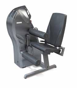 PRODUCTS Strenght Machines LEG CURL LEG EXTENSION Properties Electronically controlled training machine for the thigh musculature.