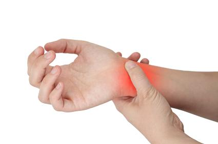 CARPAL TUNNEL SYNDROME Definition: pain, tingling, numbness in the wrists & hands during