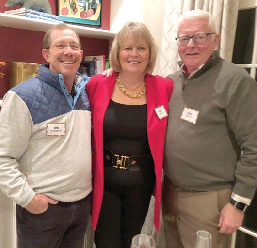 Lyn and Beecher Chivvis hosted a soiree honoring Staying Put s