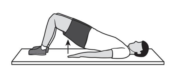 abdominals Lie on your side on the floor with your bottom leg slightly bent and