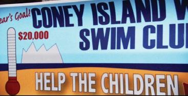 1 2 They swim to get money for children in the