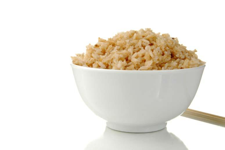 Brown Rice fit tip: Eat healthy foods to get energy to MOVE.