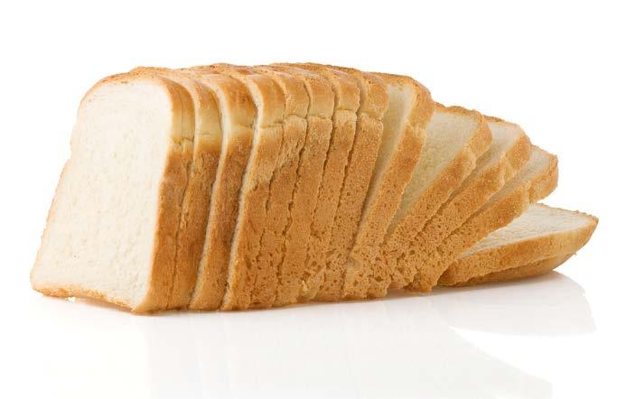 White Bread fit tip:. Choose whole-grains when picking your breads and pastas.