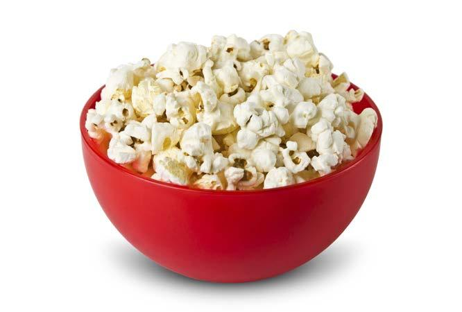 Microwave Popcorn fit tip: Snack smart. Limit yourself to a single serving instead of an entire bag.
