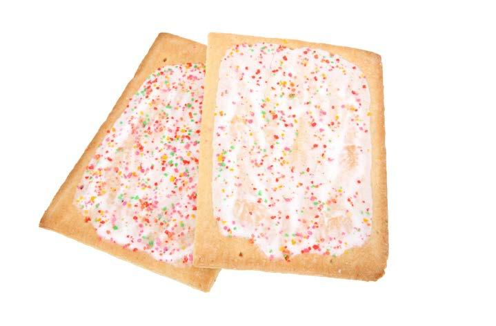 Toaster Pastries fit tip:. Don t start your day off with foods high in sugar.