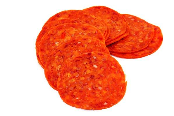 Pepperoni fit tip:. Some meats are higher in fat than others.