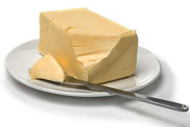 Butter fit tip:. Just a little bit of butter is enough.