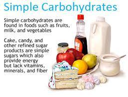 Simple Carbohydrates Simple carbohydrate sources Fruit juice White bread Processed foods Foods with refined sugar Candy Soda What do they