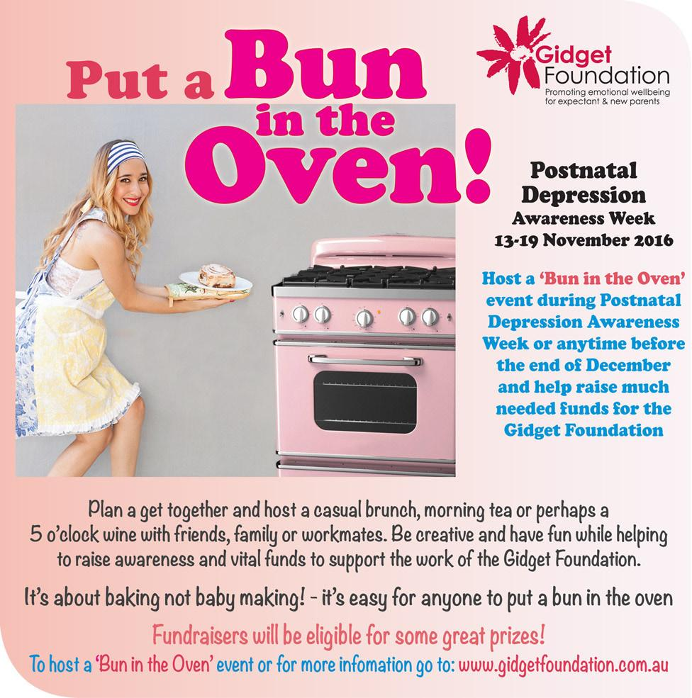 Gidget Bun in the Oven host kit Thank you for registering your interest in hosting a Bun in the Oven event.