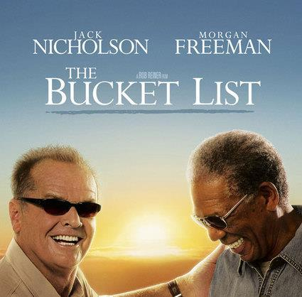 The group agreed to hold a film night every month and have agreed the following; The Bucket List