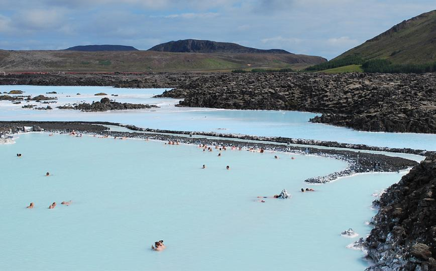 SOCIAL PROGRAM Blue Lagoon The Blue Lagoon spa is one of the most visited attractions in Iceland. The spa is located in a lava field in Grindavík on the Reykjanes Peninsula, southwestern Iceland.