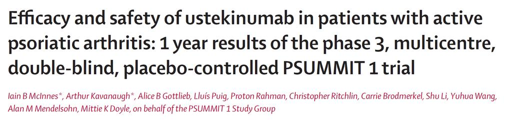 Ustekinumab is a fully human IgG 1κ monoclonal an0body that binds to the common p40