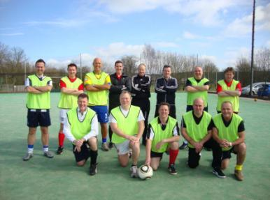 Organise a Charity Football Match (or any other sport) All you need