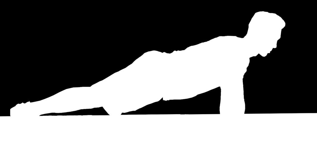 pushup position. Band will give that extra resistance you are looking for to increase your strength.