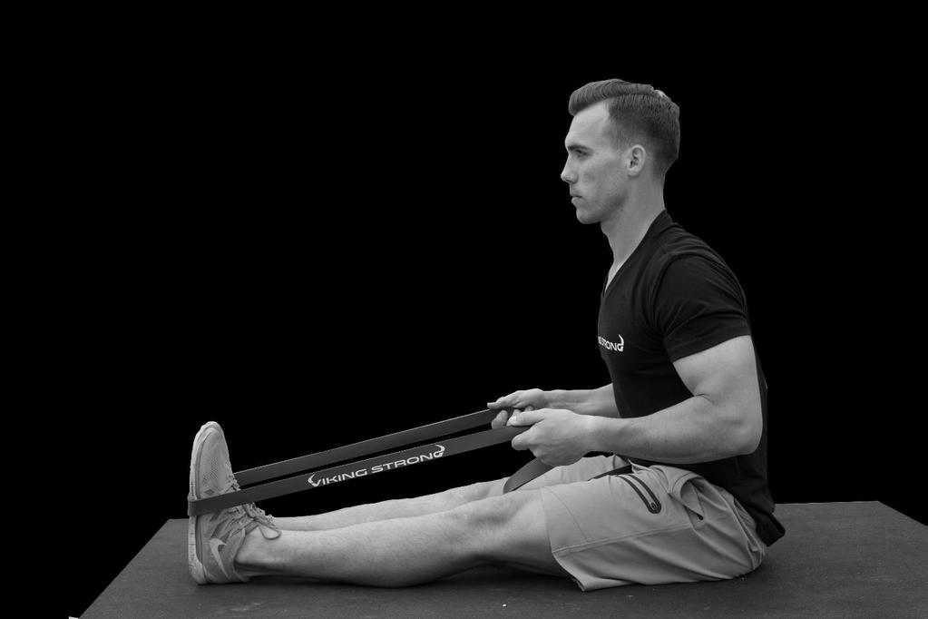 Lower Back and Hamstring Stretch.