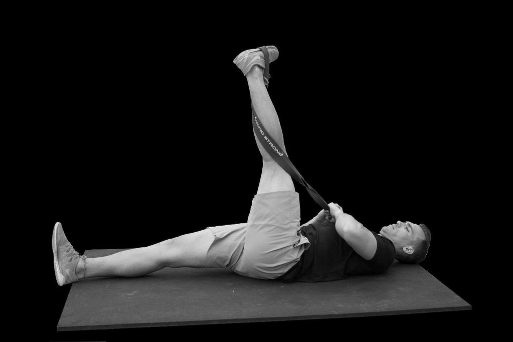 Outer Hamstring Stretch.