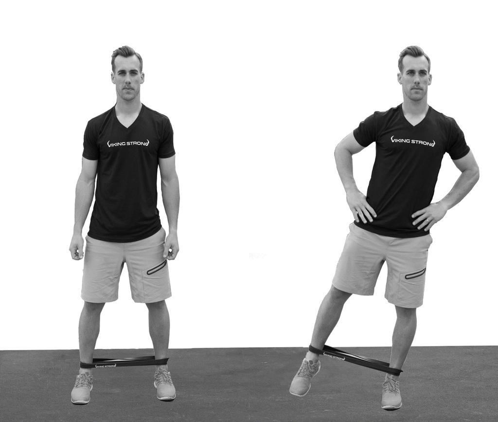 Abductor. Training the abductors and adductors improves muscular imbalances, strengthens your core and prevents injury.