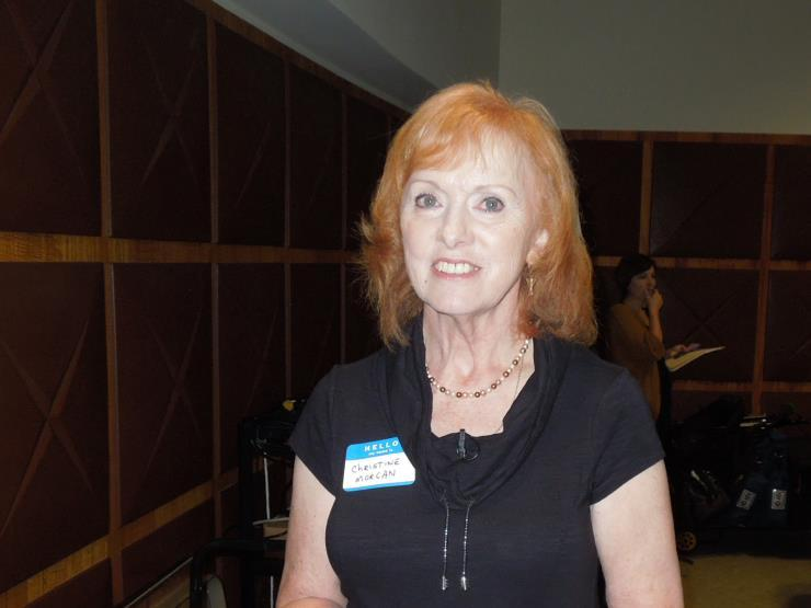 Christine Morgan, speaker at Mayo Clinic Saturday August 8, 2015 Christine Morgan, President of the Twin Cities Chapter of HLAA (Hearing Loss Association of America) addressed the Mayo Clinic