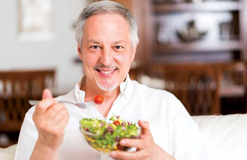 PROSTATE HEALTH Take the Colorful Route to a Healthier Prostate by Afreen Zama Anwar When it comes to urinary health, medical experts agree that an overall pattern of healthy eating and regular