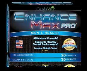 libido. EnhanceMax PRO Contains: LJ100 : This proprietary Tongkat ali extract has been clinically tested to help increase free testosterone levels, support healthy sexual function, and boost stamina.