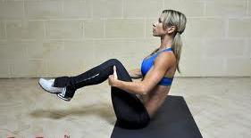 Begin each repetition with upper back on floor to allow abdominal muscles to work dynamically.