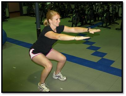 Wall Push Ups- Target Muscles- Chest, Shoulders, Triceps, and Abs Face a flat wall, about 1.