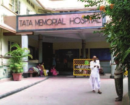 5 UPDATE Issue 18 March 2012 A day at the Tata Memorial Centre in Mumbai by Deborah Enting The Tata Memorial Centre (TMC) in Mumbai, India is one of the leading cancer centres in South-East Asia and