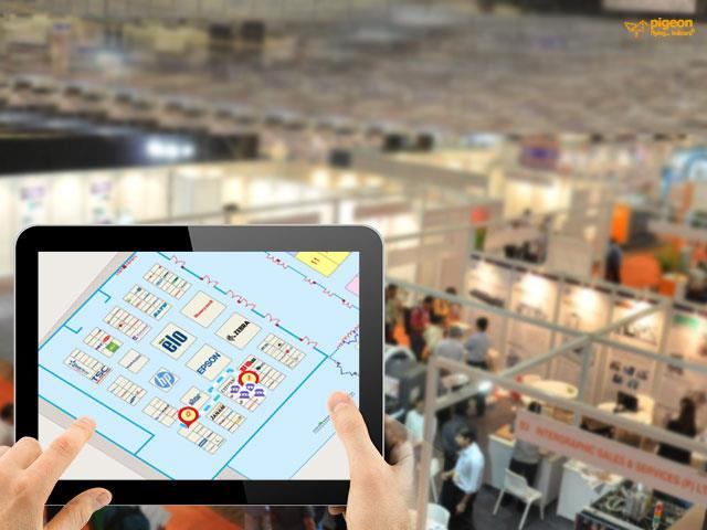 In addition to providing real-time location based services, indoor navigation technology when used as a Smartphone application functions as an indoor collaboration tool as well.