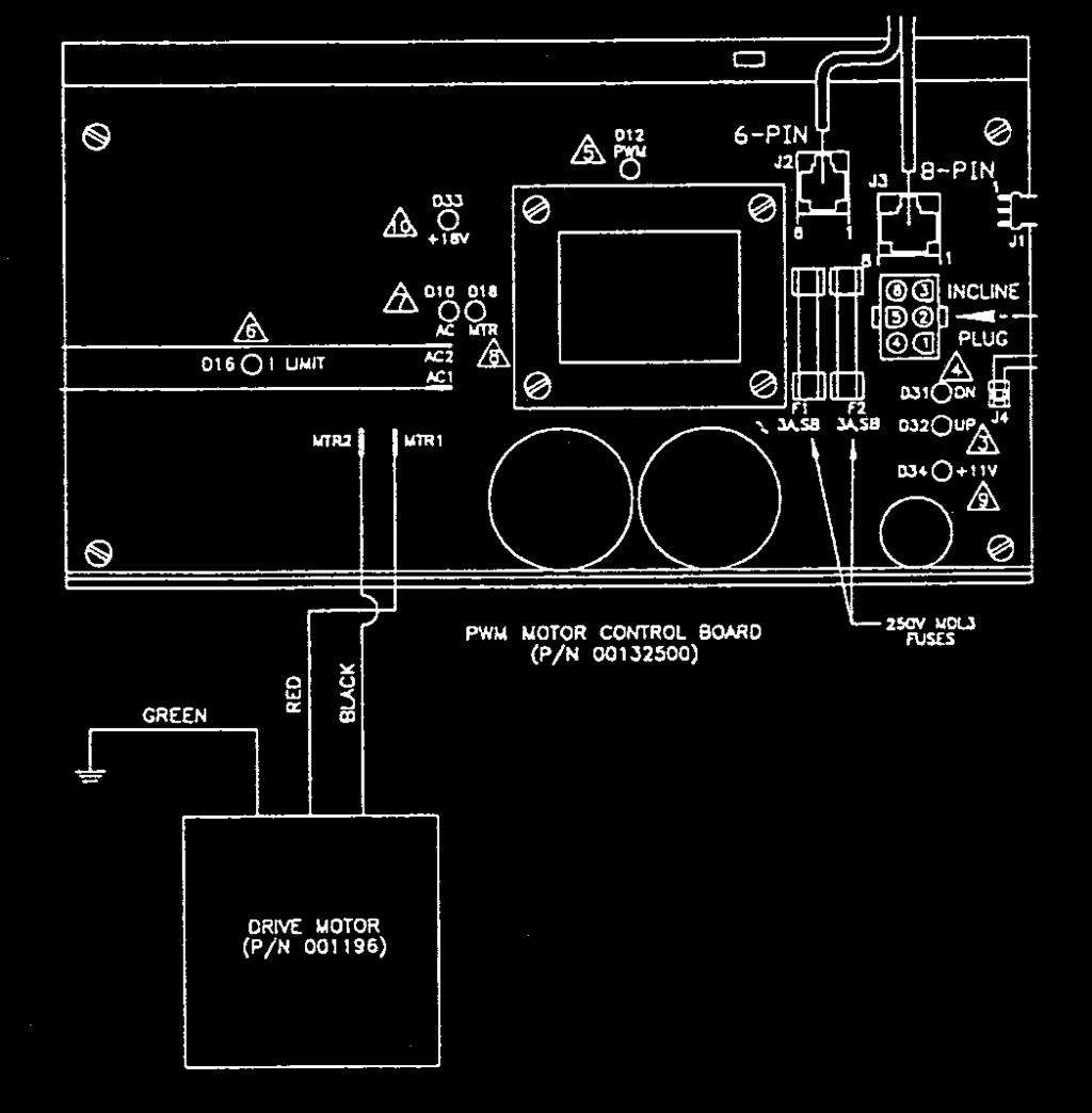 Owners Manual 600 Series 700 725 750. Drive Motor Test This Is Used In Conditions Of No Belt Movement. Wiring. Pacemaster Dc Drive Wiring Diagram At Scoala.co