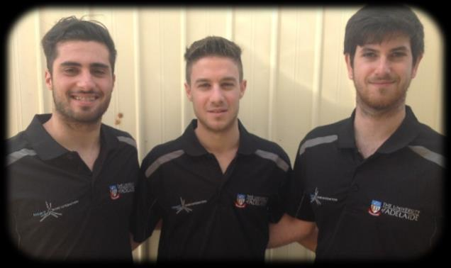 Anthony Louzikiotis, Michael Caroscio & Anthony Roccisano ~ Class of 2010 Michael Caroscio, Anthony Louzikiotis and Anthony Roccisano (pictured L R) began together at St Michael s in 2006 in Year 8.