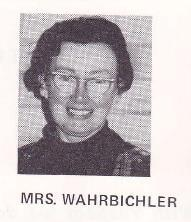 IN REMEMBRANCE Mrs Mary Wahrbichler (RIP) 6 February 1922 ~ 1 January, 2015 Much loved Mother of Raymond (Class of 1981) and St Michael s College staff member 1960 1984 (Extract from The Chronicle,