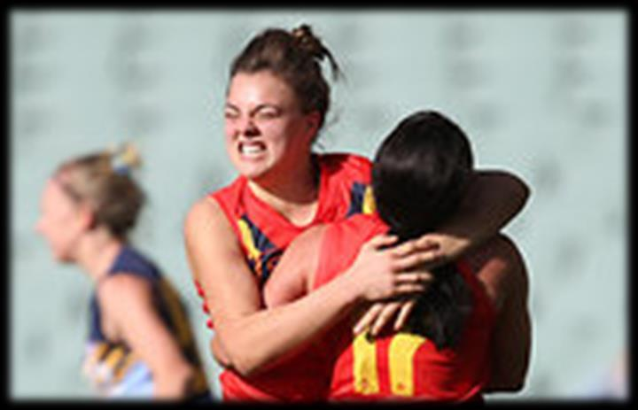 Ebony Marinoff ~ Class of 2015 South Australian footballer, and St Michael s Old Scholar, Ebony Marinoff, has shown she can step up to the plate no matter the circumstances after cutting short a