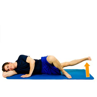 You should feel a good stretch in your hamstrings and possibly all the way down the back of your legs.
